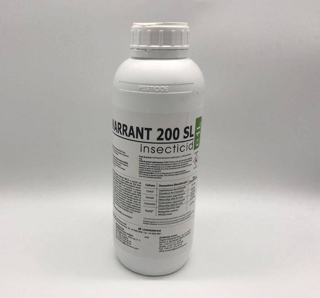 Insecticid Warrant 200 SL (1L)