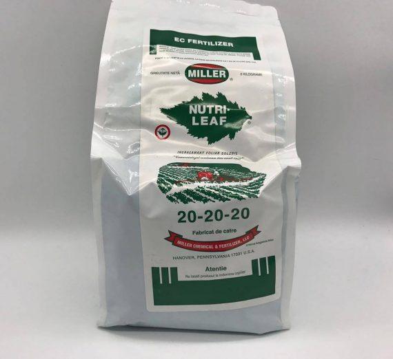 Fertilizant Nutri Leaf 20-20-20 (2kg)