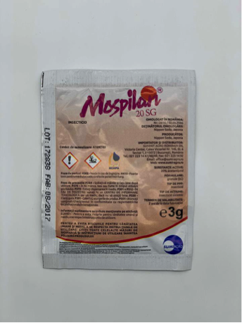 Insecticid sistemic Mospilan 20 SG (3g)