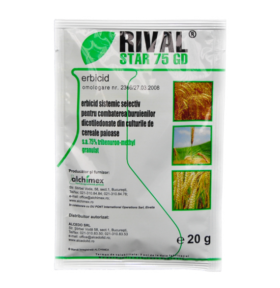 Erbicid Rival Star 75GD (20gr)