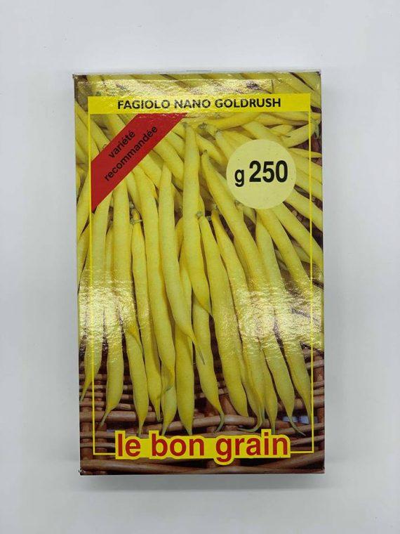 Seminte de fasole Nano Goldrush (250 g)