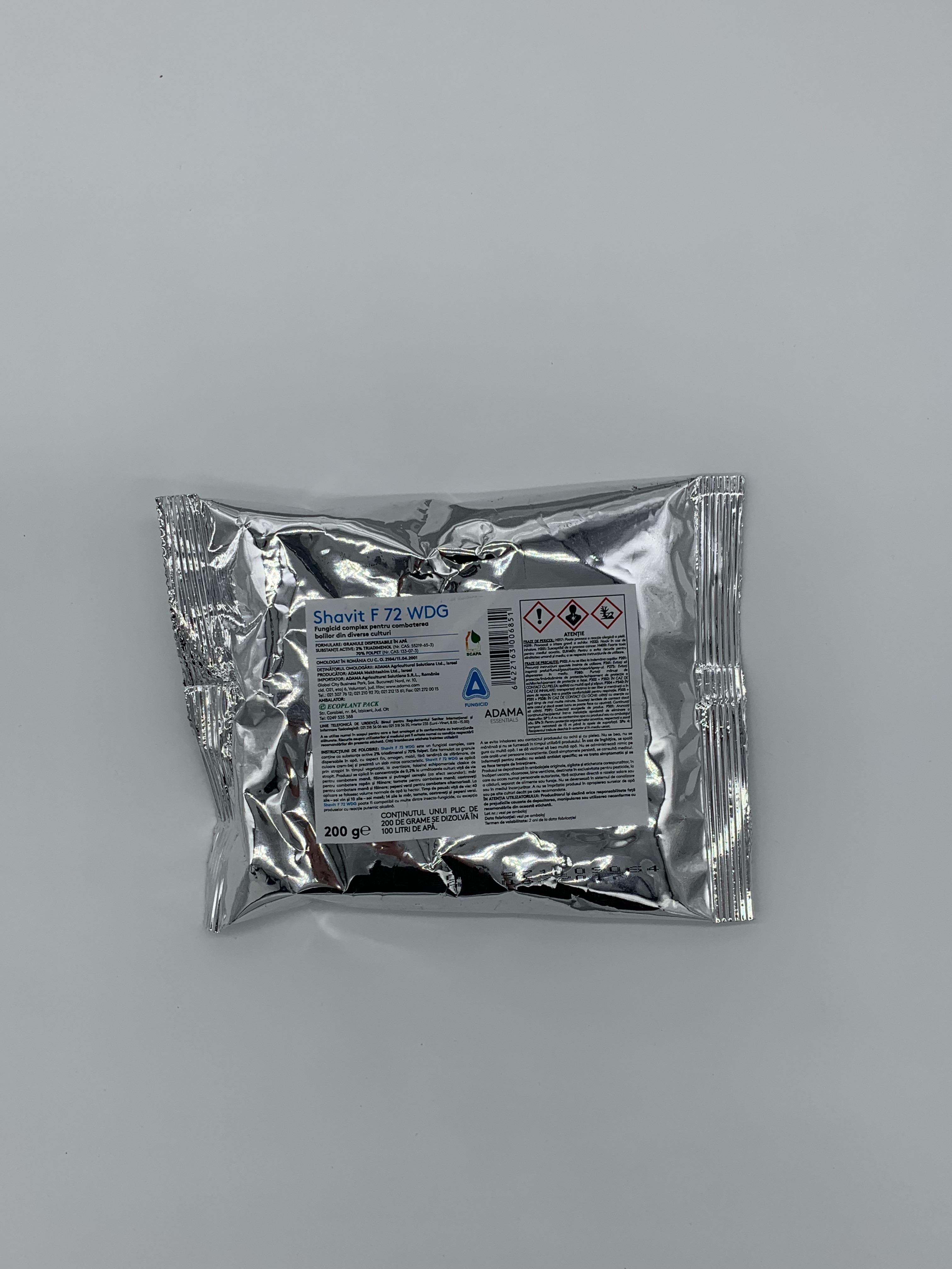 Fungicid Shavit 72 WDG (200g)