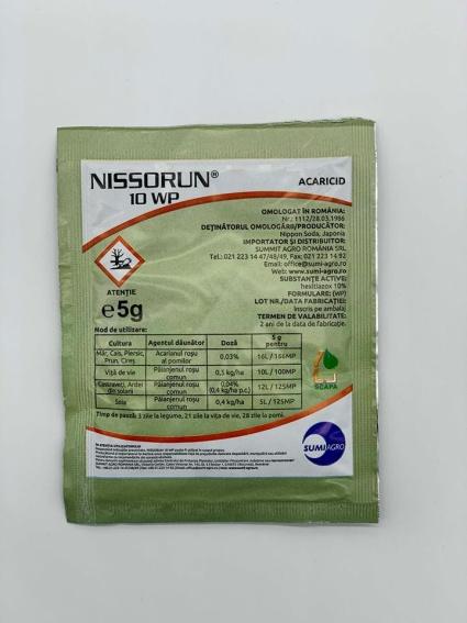 Insecticid Nissorun 10 WP (5 g)