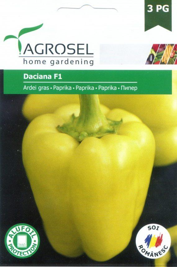 Seminte de ardei gras Daciana F1 (500 seminte)