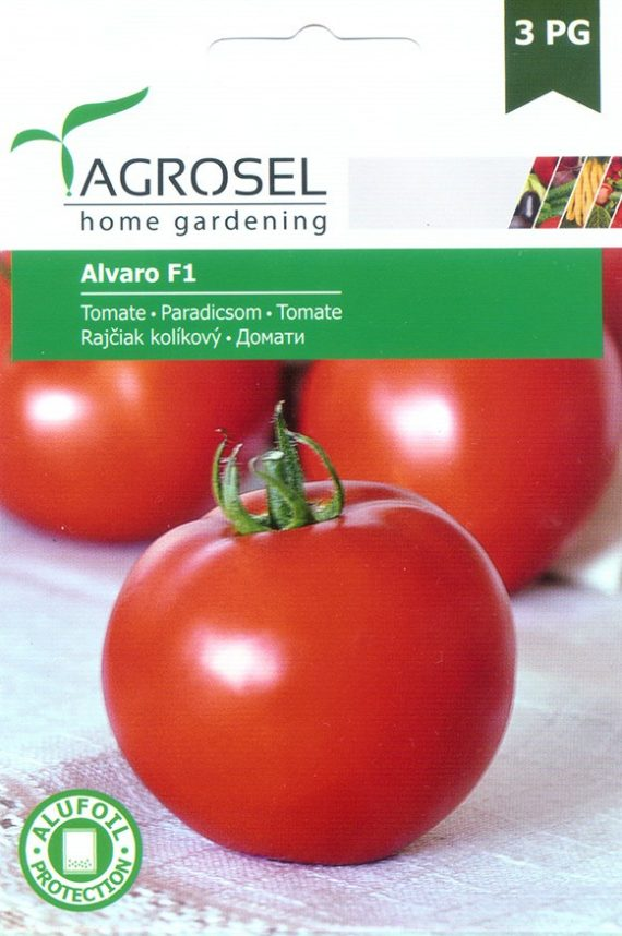 Seminte de rosii Alvaro F1 (500 seminte)